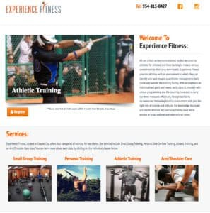 EXPERIENCE FITNESS
